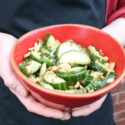 Cucumber and Peanut Salad