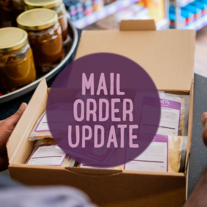 Mail Order Update