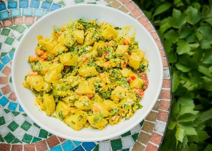 Bombay Potato Salad