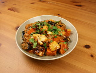 Autumnal Roast Vegetable Korma
