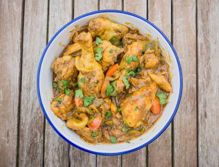 Chicken Jalfrezi with Creamed Coconut (Small)