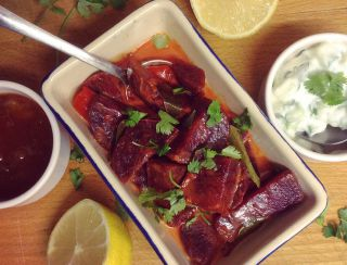 Coconut Beetroot Curry
