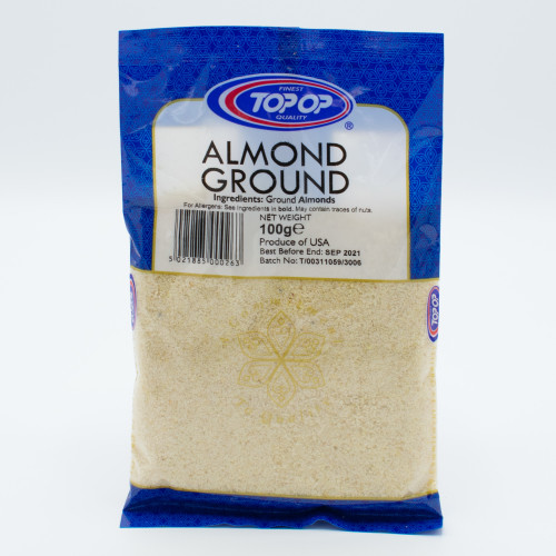 Top-Op Almonds Ground 100g