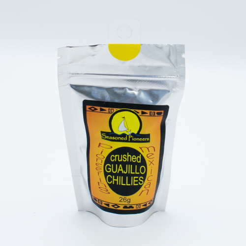 Seasoned Pioneers Crushed Guajillo Chillies 26g