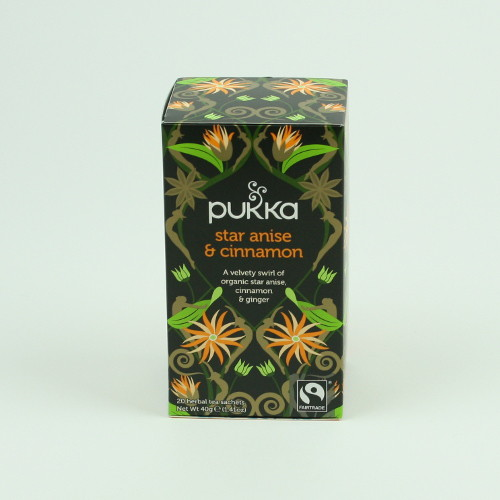 Pukka Star Anise and Cinnamon Tea