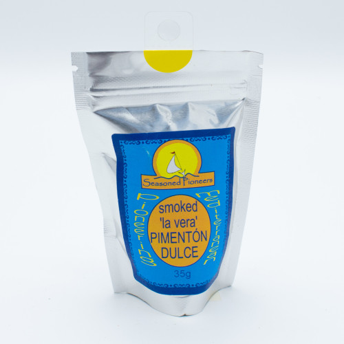 Seasoned Pioneers Smoked 'la vera' Pimenton Dulce (Sweet Smoked Paprika) 35g
