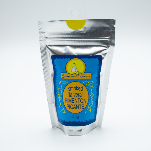 Seasoned Pioneers Smoked 'la vera' Pimenton Picante (Hot Smoked Paprika) 35g